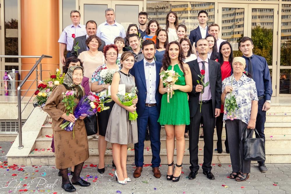 Fotografie de Cununie Civila - Bucuresti - Stefania si Ciprian