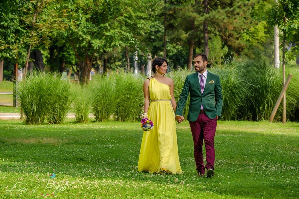 Sedinta foto dupa nunta - Oana si Cristi