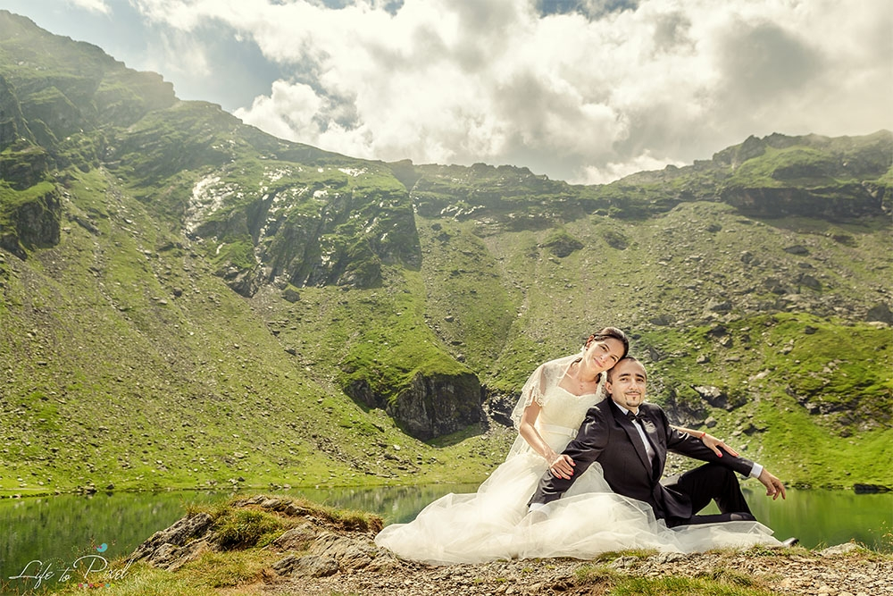 Roxana si Marius - Trash The Dress - Sedinta Foto - Balea Lac Transfagarasan